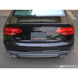 AWE Dual Outlet Bumper Conversion Kit W/ Rear Lower Valance for B8 A4 Sedan - For S-Line Cars