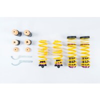 KW Height adjustable spring kit (coilover springs) For cars without electronic damper control - Audi A4 Limousine B9 (B8)