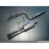 AWE Cat Back Performance Exhaust for Mk4 Jetta - Dual Outlet