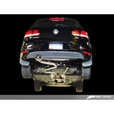 "AWE ""GTI Style"" Performance Exhaust for MK6 Golf TDI - Polished Silver Slash Cut Tips"