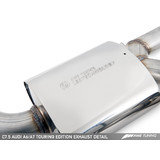 AWE Tuning Audi C7.5 A6 3.0T Touring Edition Exhaust - Quad Outlet, Diamond Black Tips