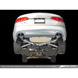 AWE Tuning Audi S4 3.0T Track Edition Exhaust - Chrome Silver Tips (102mm)