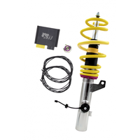 KW DDC - ECU coilovers inox - Audi A3 8P For cars with a strut diameter at the front axle of 55 mm
