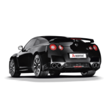 Akrapovic Evolution Line (Titanium) for Nissan GT-R R35 with Carbon Tailpipes