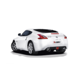 Akrapovic Slip-On Line (SS) for Nissan 370Z with Carbon Fibre Tailpipes