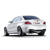 Akrapovic Evolution Line (Titanium) for BMW 1M with Carbon Tailpipes
