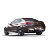 Akrapovic Evolution Line (Titanium) for M6 (F06) Gran Coupe with Carbon Tailpipes