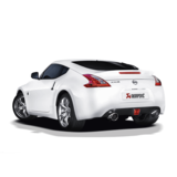 Akrapovic Evolution Line (SS) for Nissan 370Z with Carbon Fibre Tailpipes