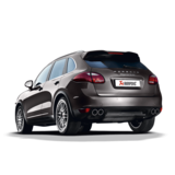Akrapovic Evolution Line (Titanium) for the Porsche Cayenne Turbo/S (958) with Carbon Fibre Tailpipes