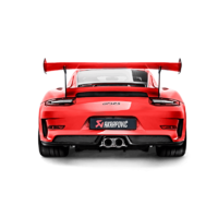 Akrapovic Porsche 991.2 GT3RS / Speedster OPF - Slip-On Line (Titanium) with Evolution Header Set